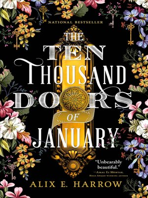 cover image of The Ten Thousand Doors of January